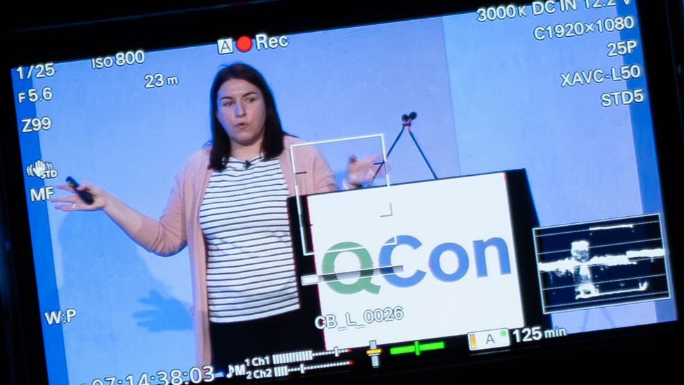 QCon London 2020 Conference Filming